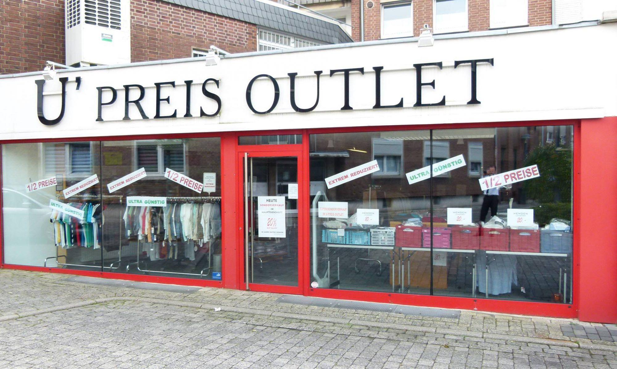 U-Preis Outlet Wesel